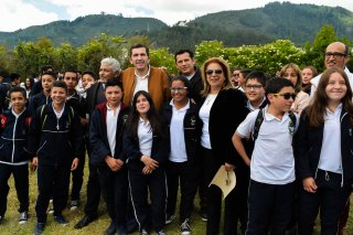 Entrega predio para la Ampliación de la Institución Educativa Fonqueta